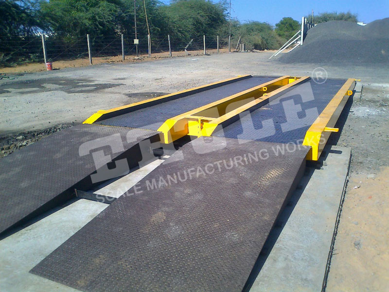 Mobile Weighbridge, Foundationless Movable Weighbridge